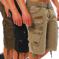 Geographical Norway People Panoramique Herren Bermuda Cargo Shorts Kurze Hose