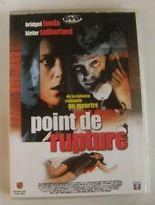DVD point de rupture - Bridget FONDA / Kiefer SUTHERLAND - Paul MARCUS