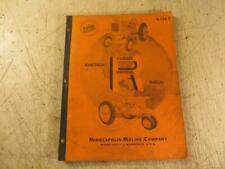 New Listingminneapolis Moline Model R Maintenance Manual Book Number S 126b