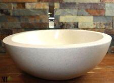 Lavabos y grifos de baño de piedra