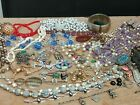 Job Lot Of Antique & Vintage Jewellery For Spares Or Repairs. A/f. Czech. Deco