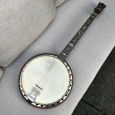 More details for windsor whirle ambassador supremus banjo, 1920's, tenor banjo four string