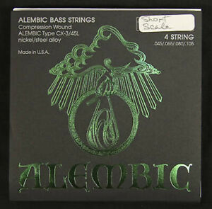Alembic CX-3/45S Short Scale Bass Strings – 4-string, Nickel, Roundwound 45-105