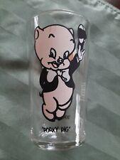 1975 Pepsi Porky Pig Glass