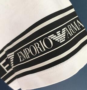 "Boys EA7 EMPORIO ARMANI T Shirt Age 14 White 17"" across EXCELLENT"