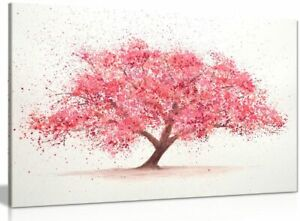 Cherry Tree Blossom Canvas Wall Art Picture Print