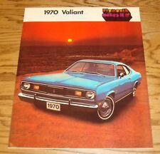 Original 1970 Plymouth Valiant Sales Brochure - Canadian 70 Duster