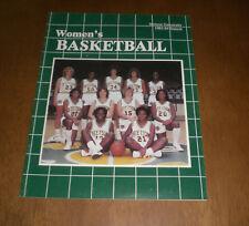 1983-84 STETSON UNIVERSITY HATTERS WOMEN'S BASKETBALL MEDIA GUIDE
