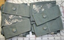 2x NEW U.S. ARMY MOLLE II DOUBLE 40mm HIGH EXPLOSIVE POUCH ACU CAMO