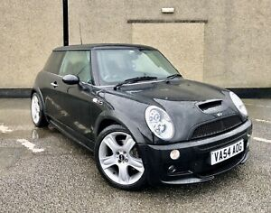 Stunning Mini Cooper S 1.6 Supercharged in Black 60K Low Miles JCW Aero Kit LSD