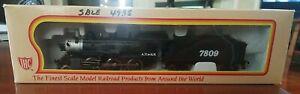 IHC ATCHESON TOPEKA & SANTA FE M510 2-6-0 MOGUL in box HO Train