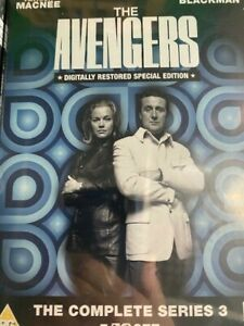 THE AVENGERS complete series3 Region 2 DVD set