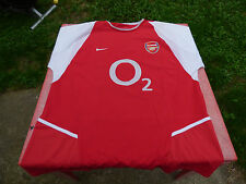 maillot de football Arsenal Nike XL rouge  O2 jersey
