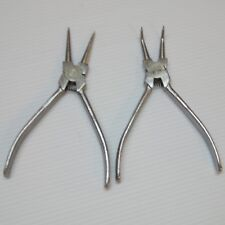 2 x Internal Snap Retaining Ring Clip Circlip Removal Pliers for Locksmith