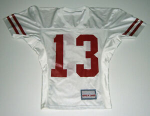 1990's BADGERS Carl McCullough Game Used jersey #13 worn Wisconsin football RB