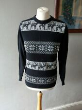 WOMENS LADIES STUNNING WINTER KNIT WEAR CHRISTMAS XMAS JUMPER DAY SIZE 8