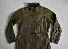 Ladies BARBOUR Sylkoil Finish Waxed Belted Outdoor Jacket Coat UK M 12/14