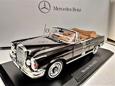 1:18 NOREV Mercedes 280SE Cabrio W111 brun braun brown NEU NEW