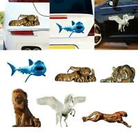 3D Animal PVC Car Sticker Decal Auto Body Window Decoration Styling Accessories