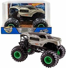 Brand New OFFICIAL MONSTER JAM Truck ALIEN INVASION Die Cast Vehicle 1:24 Scale