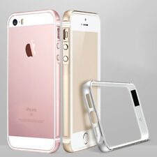 For iPhone 5S 5 SE Shockproof TPU+Metal Aluminum Bumper Case Cover Shell Skin
