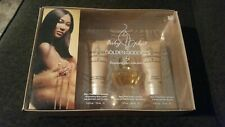 Kimora Lee Simmons Baby Phat Golden Goddness 3pc Gift Set *NIB*