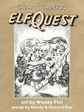 """SALE! ELFQUEST """"ART of the STORY"""" HC Wendy Pini art - beautiful book! SIGNED!"""