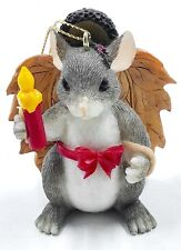Charming Tails Maxine's Angel Fall Thanksgiving Figure Fitz & Floyd #86/701
