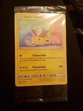 Pokemon Ash's Pikachu TGC with QR Code for Sun & Moon, SEALED