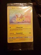 POKEMON Ash Pikachu TGC con codice QR per sole e luna, sigillato