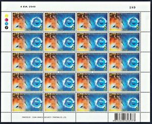 Thailand Stamp 2006 National Communication Day FS