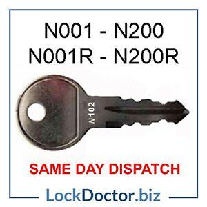 Halfords THULE Roof Box / Roof Bars / Bike Rack Keys To Code FREE 48HR TRACKED