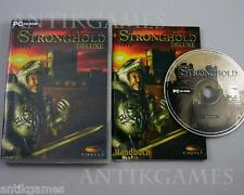 Stronghold Deluxe PC in DVDbox mit Handbuch inkl. Excalibur Pack