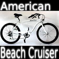 """Bicicletta beach Cruiser Custom 26"""" Shimano Bici dal design Americano Chopper"""