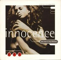 """INNOCENCE one love in my lifetime/a matter of fact COOL 263 uk 1992 7"""" PS EX/EX"""