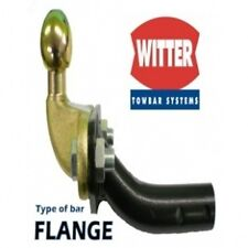 Witter Towbar for Fiat Panda 4x4 2013 Onwards - Flange Tow Bar