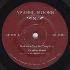 YSABEL MOORE 7 33rpm Musicol HR 1211 OHIO SOUL BLACK GOSPEL