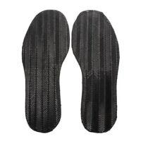 SS 1 Pair DIY Stick On Full Soles Heel Palm Shoe Repair Anti-Slip Grip-rubber Pa