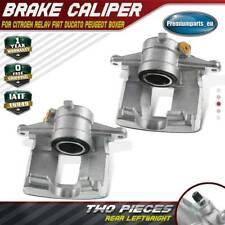 2x Brake Calipers Rear for Citroen Relay Fiat Ducato Peugeot 2.0L 2.2L 2.3L 3.0L