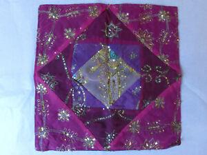 Kissenhülle Dekokissen Orient bestickt pink 40 x 40 Boho