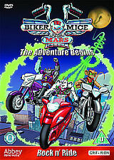 BIKER MICE FROM MARS THE ADVENTURE BEGINS DVD KIDS 3 EPISODES