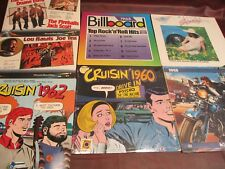CRUISIN 1960 & 62 History of Rock 'n' Roll Radio DJ'S AND ARTIST + 58 & 63 +3LPS
