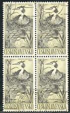 TSCHECHOSLOWAKEI 1960 Wasservögel 30 H Haubentaucher (Podiceps cristatus) O
