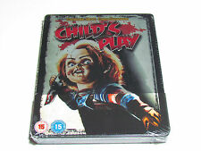 CHILD'S PLAY Blu-Ray Metalpak (Steelbook) LIMITED EDITION NEW CHUCKY HORROR RARE