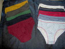 5 PAIRS BOYS BRIEFS SLIPS COTTON  -AGE 9/10 YRS RANDOM ASSORTED