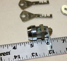 Abloy cam lock with 2 cam tongues, spacer collar & 2 keys - good used