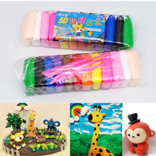 Kid Air Dry Soft Clay 12 24 36 Colors DIY Modeling Clay Child Light Clay Craft