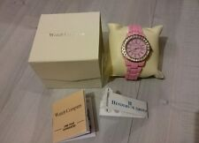 The Watch Company Quartz baby pink gemstone watch