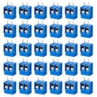 40er Set 2 Polig Anschlussklemmen Leiterplattenklemmen Printklemmen Terminal
