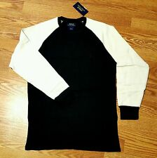 POLO RALPH LAUREN THERMAL TWO TONE SHIRT/ SZ, XL AVAILABLE/ RETAIL $45